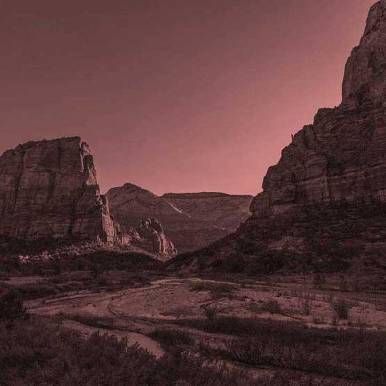 southern utah canyon